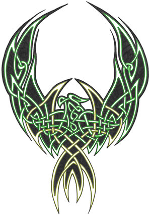 celtic phoenix tattoo2 invictus x. Black Bedroom Furniture Sets. Home Design Ideas